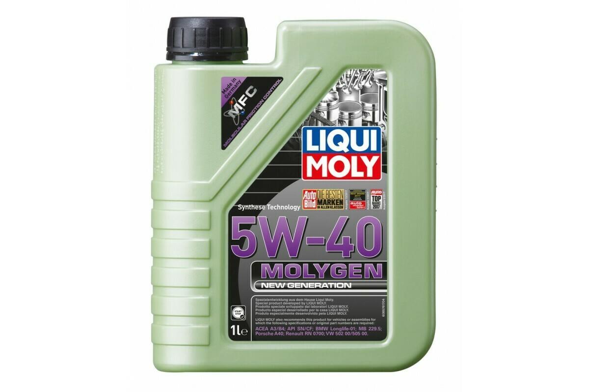 Моторное масло Molygen NEW Generation 5W-40 1л