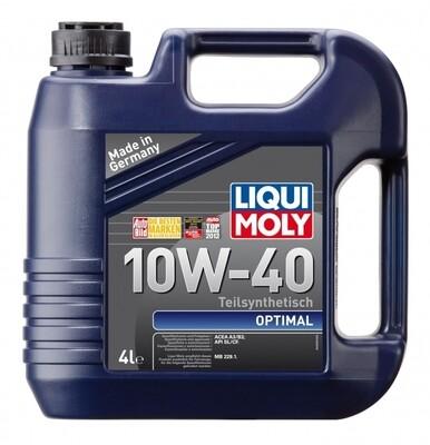 Моторное масло Optimal 10W-40 4л