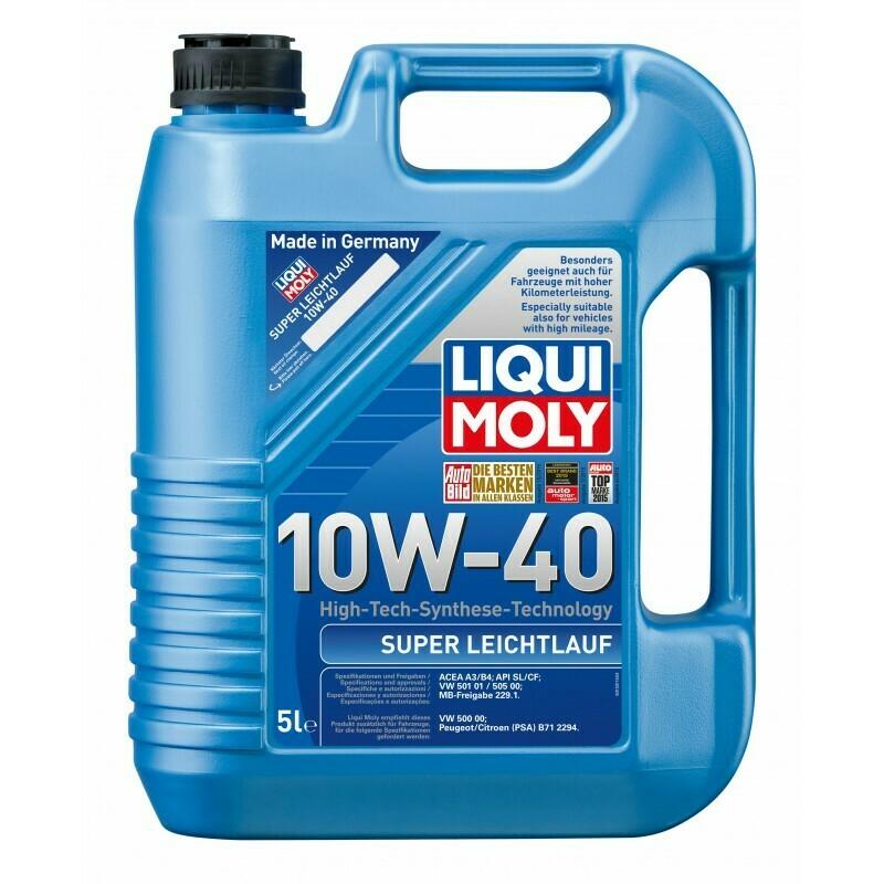 Моторное масло Super Leichtlauf 10W-40 5л
