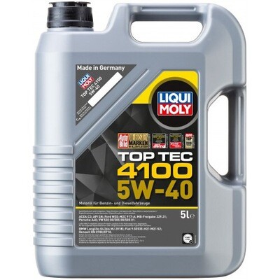 Моторное масло Top Tec 4100 5W-40 CF/SN C3 5л