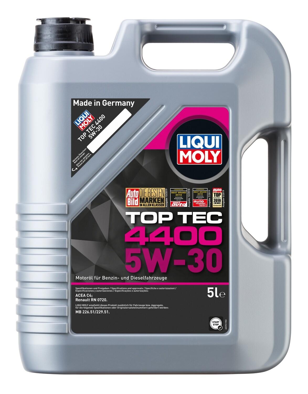 Моторное масло Top Tec 4400 5W-30 C4 5л
