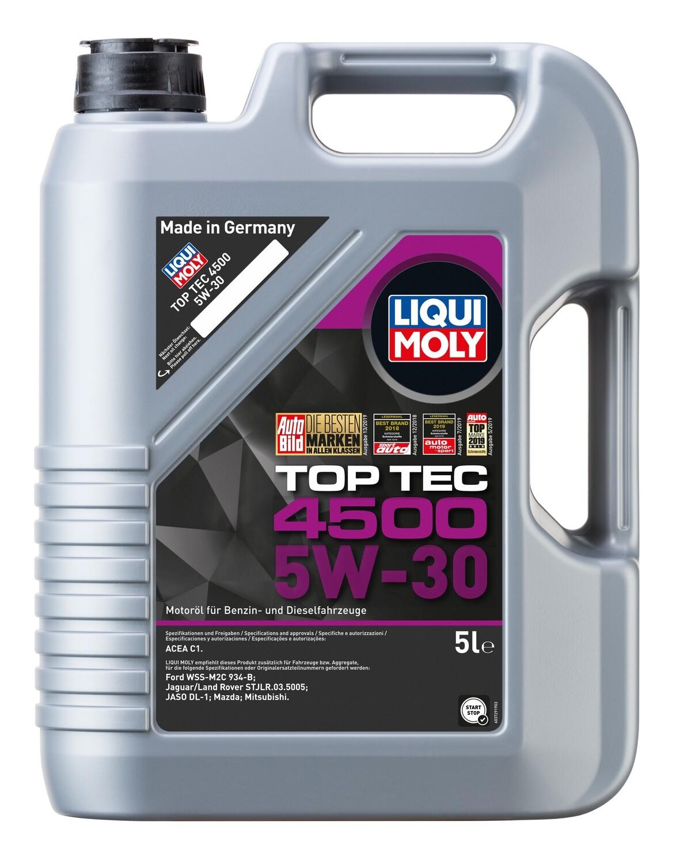 Моторное масло Top Tec 4500 5W-30 С1-08 5л