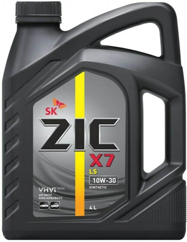 Моторное масло ZIC A+ 10W-40 SM/CF X7 LS 4л