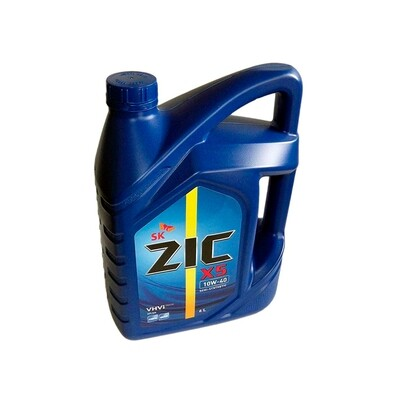 Моторное масло ZIC X5 Diesel 10W-40 6л