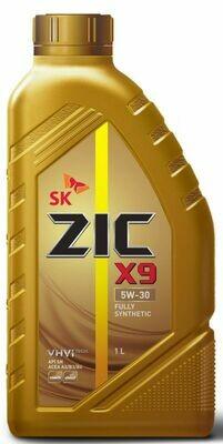 Моторное масло ZIC X9 5W-30 SN/CF 1л