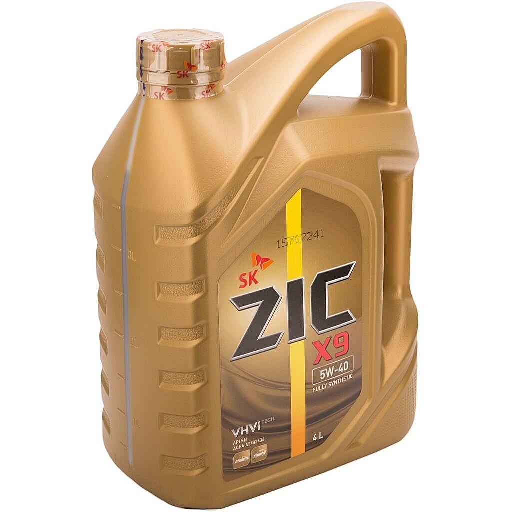Моторное масло ZIC XQ 5W-40 SM/CF Х9 4л