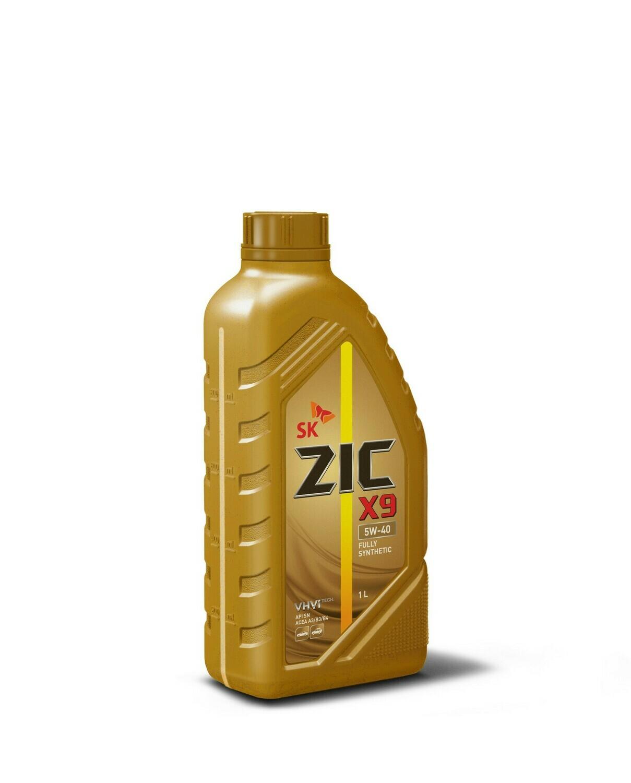 Моторное масло ZIC XQ 5W-40 SM/CF Х9 1л