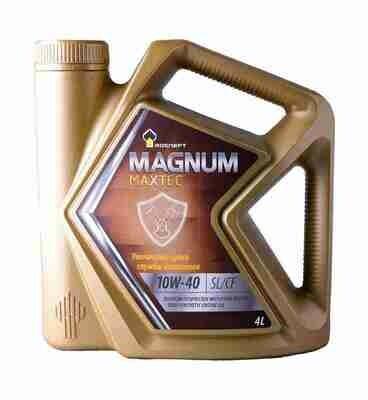 Моторное масло Роснефть RN Magnum Maxtec 10W-40 4л