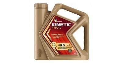 Трансмиссионное масло Kinetic Hypoid 75W-90 MT (РНПК) GL-5 4л