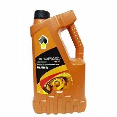 Трансмиссионное масло Роснефть Kinetic 80W-90 GL-5 4л