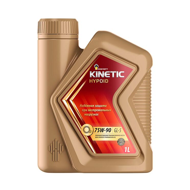 Трансмиссионное масло Роснефть Kinetic Hypoind 75W-90 MT (РНПК) GL-5 1л