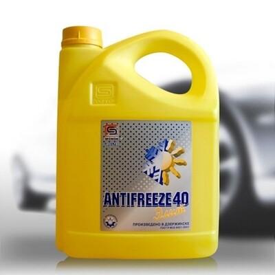 Антифриз-40 ELITE (желтый) 5кг