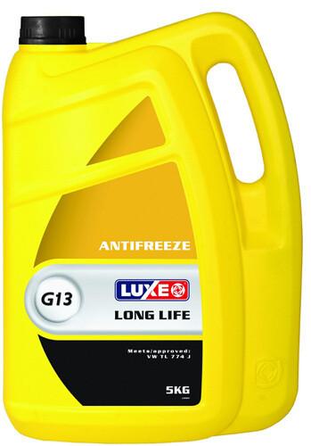 Антифриз-40 LONG LIFE G13 (желтый) 5кг