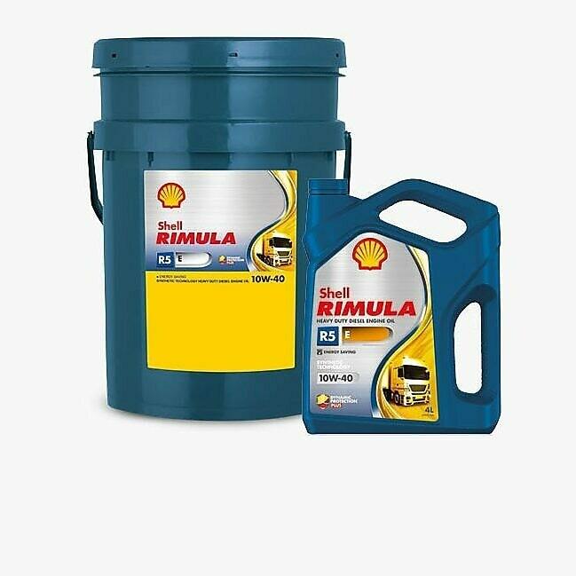 Моторное масло Shell Rimula R5 Е 10W-40 (CI-4) 209л