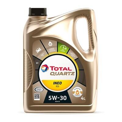 Моторное масло TOTAL Quartz INEO ECS 5W-30 4 л