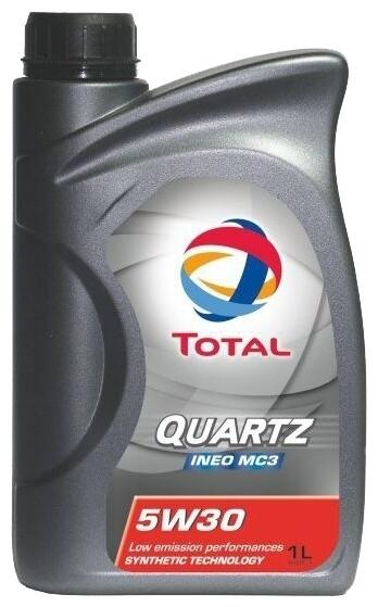 Моторное масло TOTAL Quartz INEO MC3 5W-30 1 л
