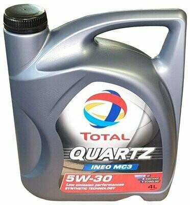 Моторное масло TOTAL Quartz INEO MC3 5W-30 4 л