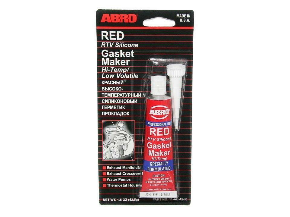 Герметик прокладок ABRO красный 42,5 гр.