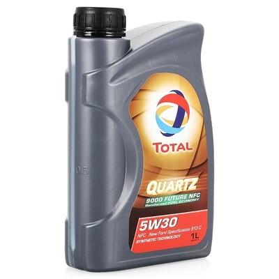 Моторное масло TOTAL Quarts 9000 FUT NFC 5W-30 1л