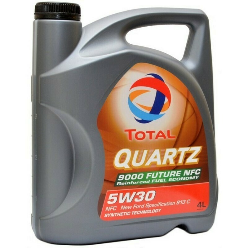 Моторное масло TOTAL Quarts 9000 FUT NFC 5W-30 4л