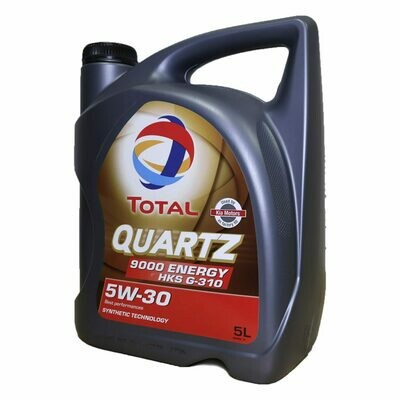 Моторное масло TOTAL Quarts ENERGY 9000 HKS 5W-30 5л