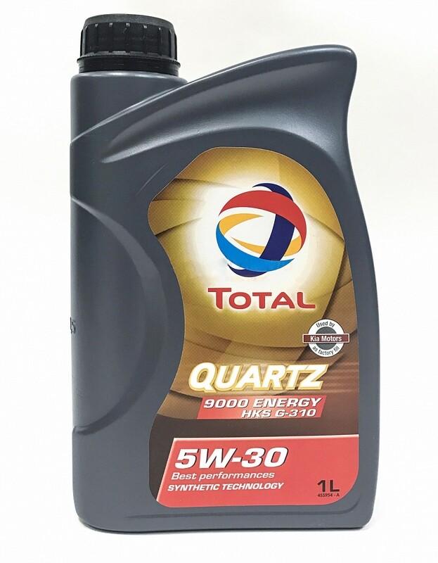 Моторное масло TOTAL Quarts ENERGY 9000 HKS 5W-30 1л