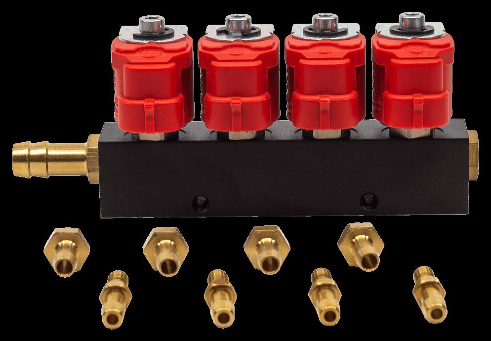 Рейка инжекторная 4 цилиндра Alpha 30