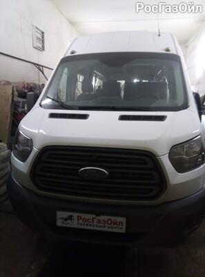 Изготовление и установка подиума (Ритуал) на автомобиль Ford Transit