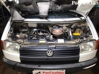 Установка Volkswagen Т4!