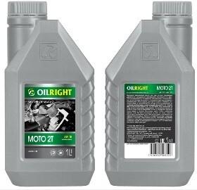 OILRIGHT МОТО 2T API TB минеральное 1л Моторное масло