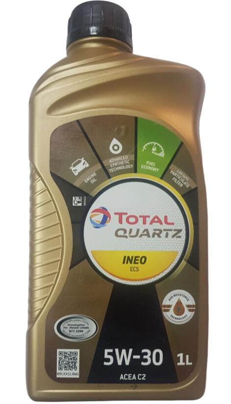Моторное масло TOTAL Quartz INEO ECS 5W-30 1 л
