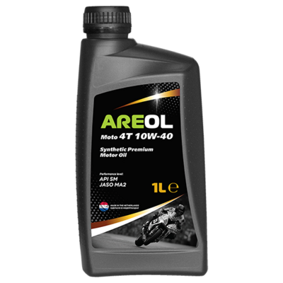 AREOL Moto 4T 10W-40 (1L) 10W40AR122