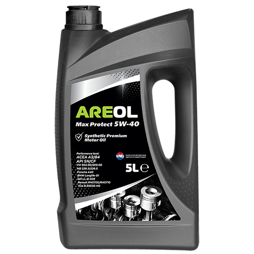 AREOL Max Protect 5W-40 (5L) 5W40AR009