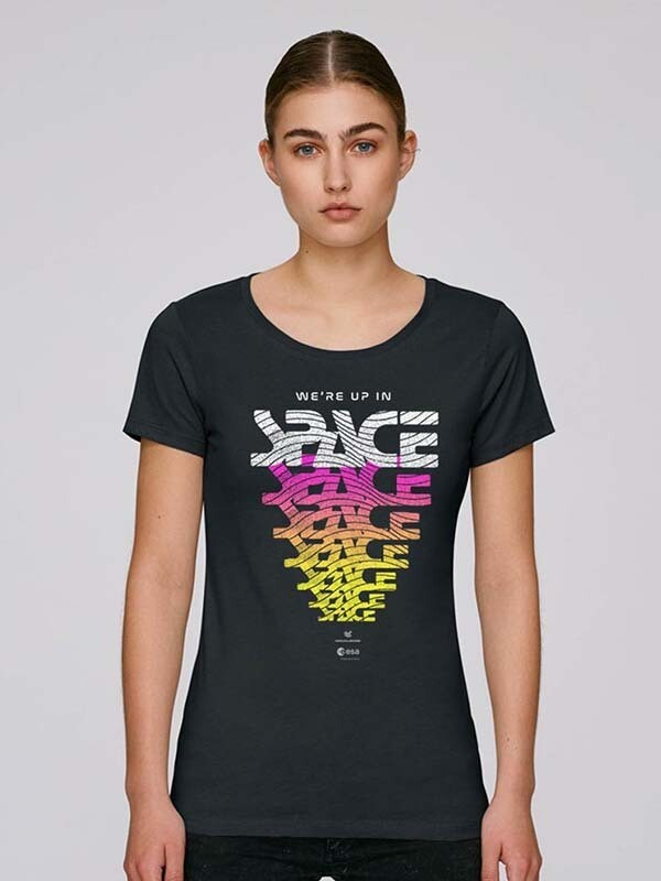 WE'RE UP IN SPACE LINE UP SHIRT