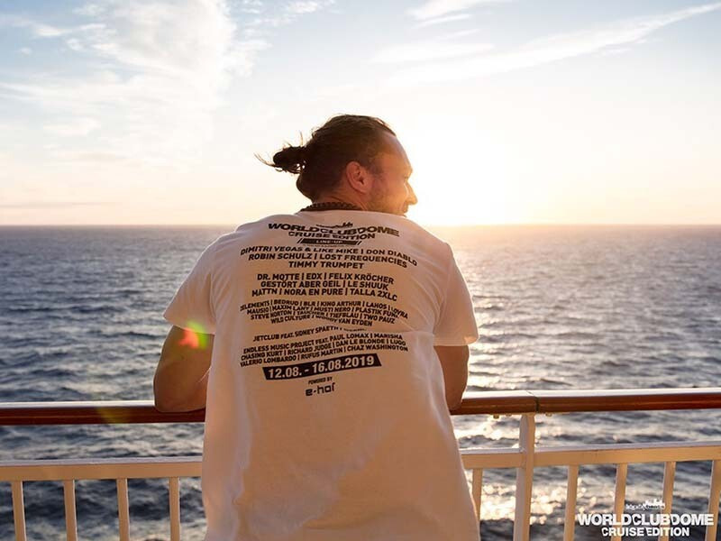 LIMITED LINE UP SHIRT WORLD CLUB DOME CRUISE EDITION