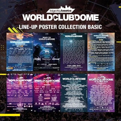 LINE UP POSTER COLLECTION BASIC