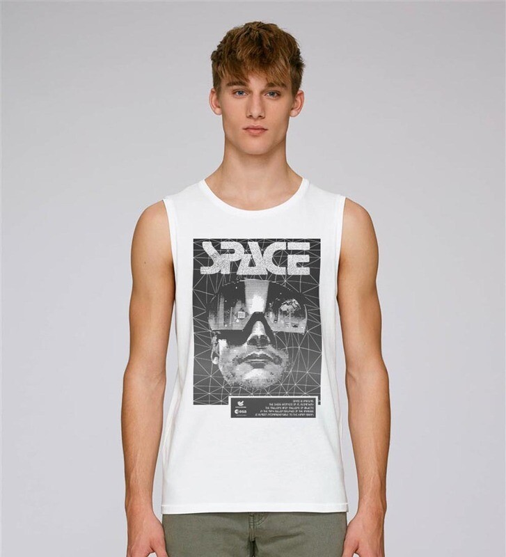 TANK TOP SPACE LOOK.
