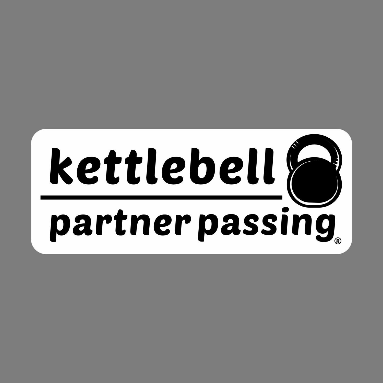 Kettlebell Partner Passing sticker