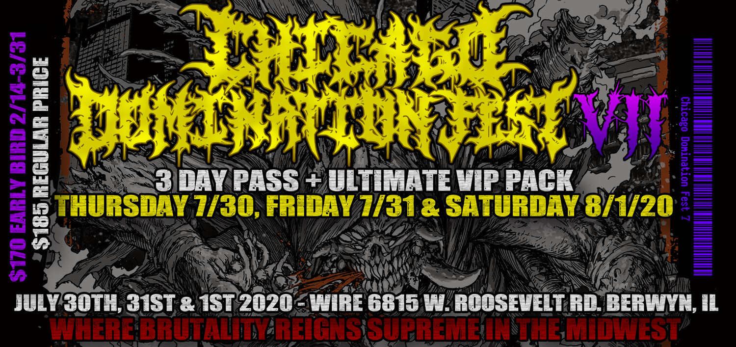 CDF 7 3 Day + Ultimate VIP Package