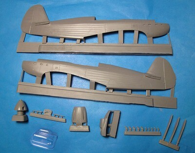 1/48 Yak-7 conversion set for Modelsvit Yak-9 kit Vector resin #VDS48-004
