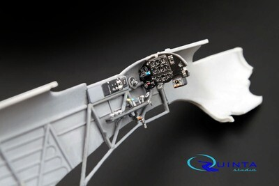Quinta studio 1/48 Yak-1B (late production) 3D interior panels (Modelsvit kits) #QD48004