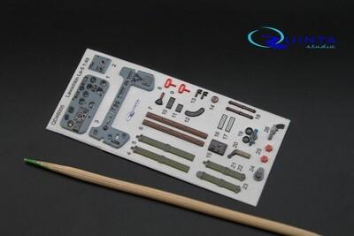 Quinta studio 1/48 La-5 3D interior panels (Zvezda kit) #QD48005
