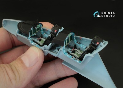 Quinta studio 1/48 Yak-130 3D interior panels (Zvezda kits) #QD48007