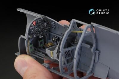 Quinta studio 1/32 Spitfire Mk.IX 3D-Printed & colored Interior on decal paper (for Tamiya kit)  QD32018