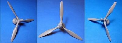 1/48 P-36/H-75 propeller Vector resin: VDS48130