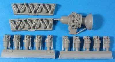 1/32 Bristol Pegasus/Alfa Romeo 126RC34 Engine Vector Resin #32-011