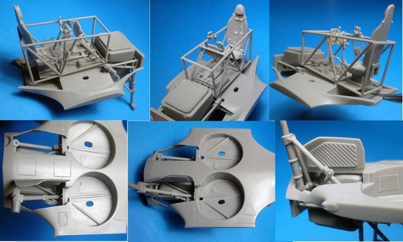 1/48 I-153 Chaika Correction set #3 for ICM kit Vector Resin #VDS48-103