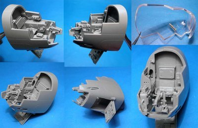 1/48 A-20B Navigator's cockpit, Vector resin #VDS48-115