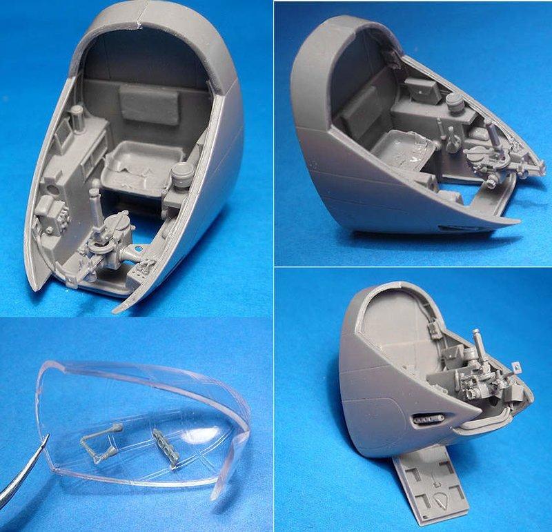 1/48 A-20C Navigator's cockpit, Vector resin: #VDS48-116