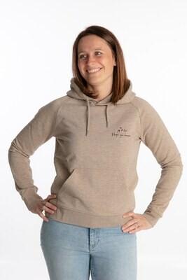Heather sand hoodie I hope you dance